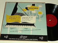 MOZART CLIFFORD CURZON VG++ Josef Krips 23 & 24  London Symphony FFRR LL-918