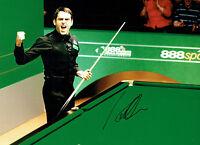 Ronnie O'SULLIVAN Signed Autograph 16x12 Photo World SNOOKER Champion AFTAL COA