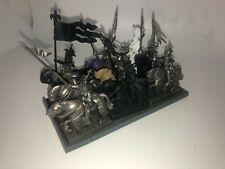 Warhammer Bretonnian Knights of the Realm (9) Primed plastic OOP