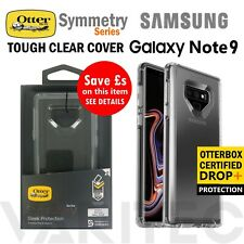 Genuine OtterBox Samsung Galaxy Note 9 Symmetry Case Tough Clear Cover for Note9
