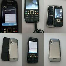 CELLULARE NOKIA E75 WIFI BLUETOOTH TIMER 2 ORE GSM SIM FREE UNLOCKED DEBLOQUE