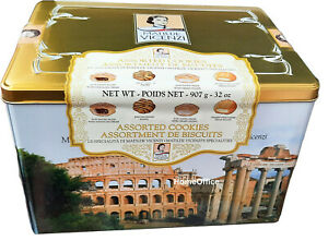 Tin Matilde Vicenzi Roma Pastries Biscuits 907g  Italian Specialities Biscuits