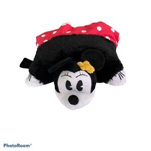 """Minnie Mouse Pillow Pets Authentic Disney 17"""" Folding Plush Pillow Large"""