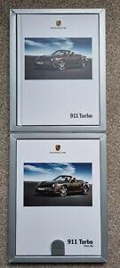 Porsche 911 Turbo Coupe & Cabriolet (997) Brochure 2008 MY +Price List In Box