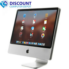 "Apple iMac 20"" Desktop Computer Core 2 Duo 4GB 160GB Mac OS with Keyboard Mouse"