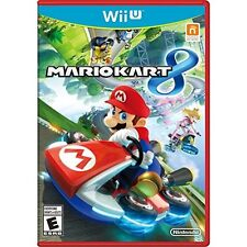 Mario Kart 8 Nintendo Wii U With Manual And Case Very Good 4Z