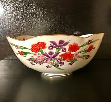 ROYAL CORNWALL Bowl The Flowers of Mount Vernon Limited Edition 1984 Large