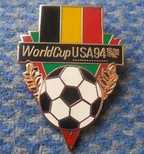 TEAM BELGIUM WORLD CUP SOCCER FOOTBALL FUSSBALL USA 1994 PIN BADGE