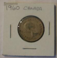 CANADA 1960 SILVER QUARTER DOLLAR CANADIAN 25c COIN