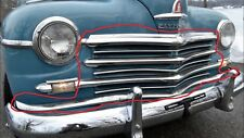 1946 1947 1948 PLYMOUTH COMPLETE FRONT GRILL ALL THE PIECES
