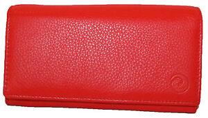 Mala Medium Leather Flapover Purse with RFID Protection origin 32575 col Various