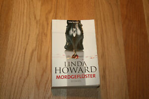 TB - Linda Howard: Mordgeflüster - Krimi - siehe Foto