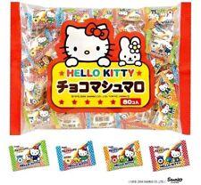 Hello Kitty chocolate marshmallow SANRIO kawaii lots 80 pcs Dagashi Japan F/S