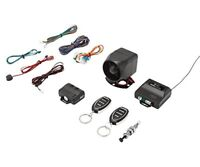 Crimestopper SP-102 Deluxe 1-Way Car Alarm & Keyless Entry System with Remote