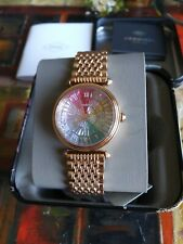 Fossil Limited Edition Rose Gold Stainless Steel Rainbow Women's Watch LE1070
