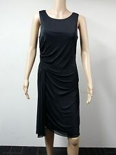 NEW - Adrianna Papell - Size 10 - Sleeveless Ruffle Sheath Dress - Black - $140