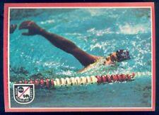 1975 Topps ABC Wide World of Sports Big Sticker Card 5x7 #21 Swimming
