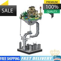 Hot Technic MOC Floating Magic Castle Building Blocks Bricks Set Toys