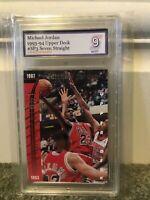 1993 Upper Deck #sp3 Michael Jordan PSA 9 Mint