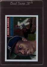 2000 TOPPS CHROME LIMITED ED. REPRINT #3 HANK AARON MINT *060337