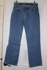 Wrangler Aura Women's Jeans size 6 P short rise Light blue wash denim (233)
