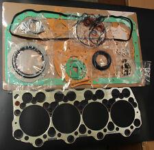 FULL GASKET SET Fits MITSUBISHI FUSO FE518 FE638 FE658 FE548 4D35 4.6L