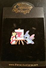 Disney Pin - Disney Auctions - Stitch Lilo Painting- LE 1000-w/bag