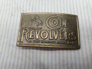 Vintage, Colt Revolver Belt Buckle