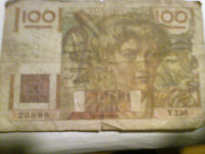 billet de 100 francs paysan 1948