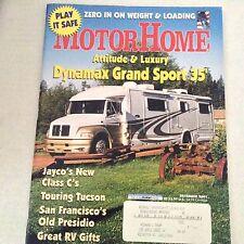 Motor Home Magazine Dynamax Grand Sport Jayco Class C December 2001 061717nonrh