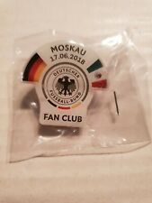 Off. PIN Fanclub DFB Deutschland Germany vs Mexico FIFA World Cup 2018