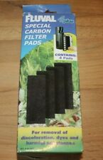 Fluval 4 + Plus Carbon Pads Genuine Product Pack of 4