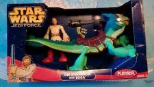 """Star Wars Jedi Force 10"""" BOGA Obi-Wan & Lichtschwert Extrem Selten Neu OVP"""