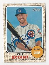2017 Topps Heritage Kris Bryant Auto Real One Autograph