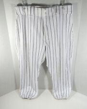 2015 Milwaukee Brewers Hernan Perez #14 Game Used White Black Pants BREW264