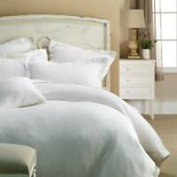 BRAND NEW 100% Cotton Thick Waffle White Quilt Cover Set