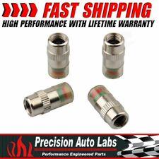 4Pcs 36PSI Car Tire Monitor Valve Dust Cap Pressure Indicator Sensor Eye Alert