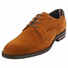 Tommy Hilfiger Para Hombre De Invierno Coñac Inteligente Zapatos Signature - 11 Reino Unido