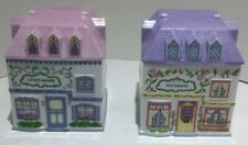 Lenox Spice Village Candy and Nut Canisters (rare/retired)