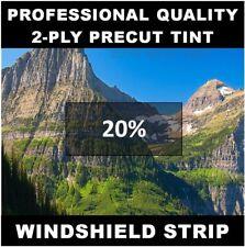 Chevy Traverse Windshield tint strip precut 20% darkness (Year Needed)