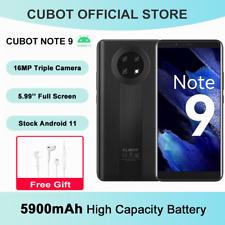 CUBOT 5,99 Zoll Note 9 Smartphone 4G Android 11 Handy 3GB+32GB Dual Sim 5900mAh