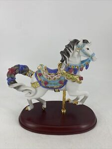 Lenox Sweethearts Carousel Horse Figurine Be Mine Valentines Day New In Box COA