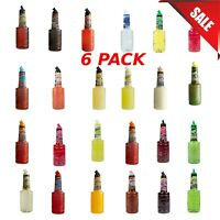 (6-Pack) 1 Liter Of Drink Mix Finest Call Bar Syrups Toppings Cocktail Mixes New
