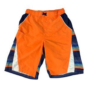 Wonder Nation Boys Swim Trunks Size XL Orange Surf Beach