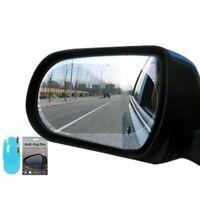 2Pcs Oval Car Anti Fog Rainproof Rearview Mirror Glass Protective Film 10x15M