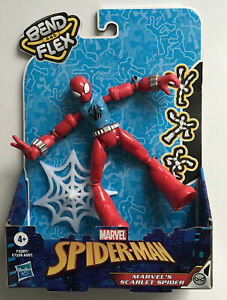 Spider-Man Bend And Flex Action Figure Marvels Scarlet Spiderman
