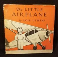 Lois Lenski THE LITTLE AIRPLANE 1938 true 1st ED w/DJ illustrated RARE CHILDRENS