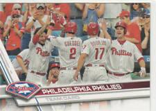 PHILADELPHIA PHILLIES TEAM CARD 2017 TOPPS #174