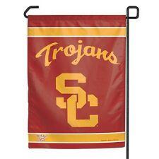 New listing Usc Trojans 11x15 Garden Flag [New] Ncaa Banner Sign Fan Yard Grass
