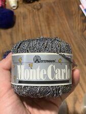 Austermann Monte Carlo 50g Grey Gold Yarn Viscose Metallic Cotton Polyamide
